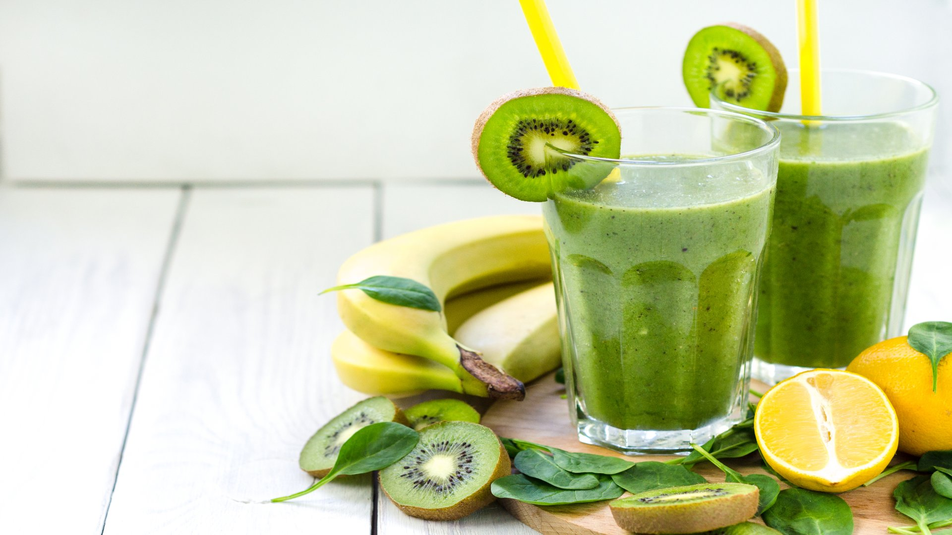 špinat-kiwi smoothie