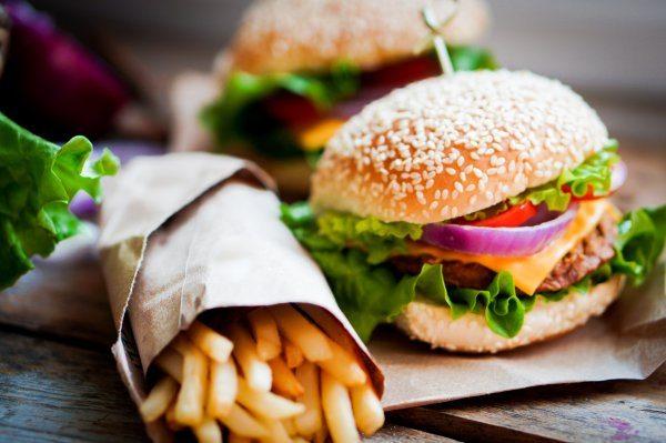 hrana prije plaže fast food