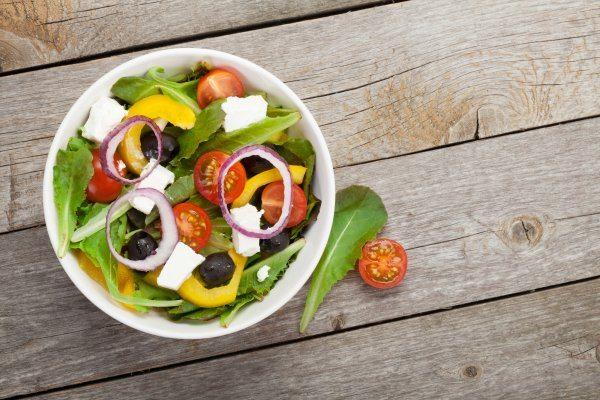 hrana prije plaže salata