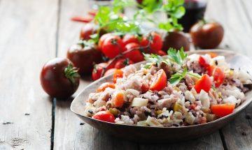 salata s rižom