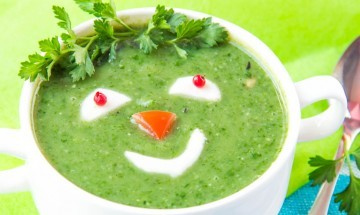 Zdrava kuhinja - Zelena juha